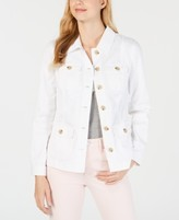 Charter Club 4-Pocket Denim Jacket, Created for Macy's