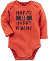 Carter's Baby Boys' Happy Me Happy Mommy Long-Sleeve Bodysuit