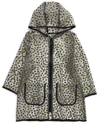 Bonton Leopard Print Raincoat (4-10 Years)