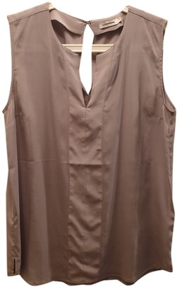 J. Lindeberg Grey Silk Top for Women