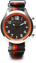 Perry Ellis Multi Color Fabric Strap Watch
