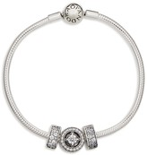 Pandora Bracelet - Elegance Sterling Silver & Cubic Zirconia, Moments Collection