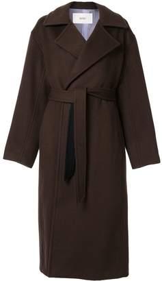G.V.G.V. Melton belted coat