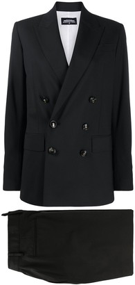 DSQUARED2 Peak Lapel Double Breasted Suit Jacket