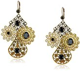 "Liz Palacios Arco Iris"" Swarovski Elements Crystal Filigree Earrings"