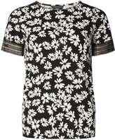 Dorothy Perkins Black Daisy Lace T-Shirt