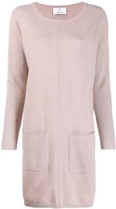 Allude cashmere jumper dress