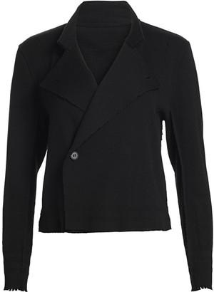 Issey Miyake Notched Lapel Jacket
