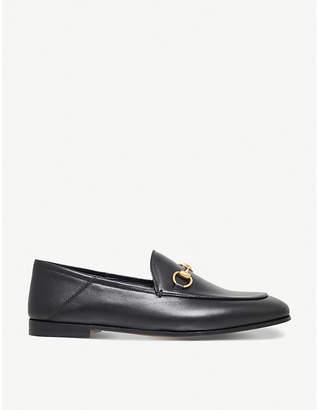 Gucci Women's Black Brixton Leather Loafers, Size: EUR 36 / 3 UK WOMEN