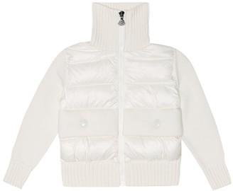 Moncler Enfant Cotton and down jacket