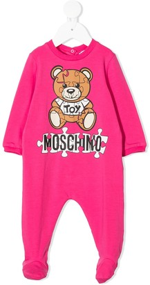 MOSCHINO BAMBINO Teddy Bear cotton pajamas