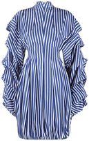 Awake Striped Mini Dress
