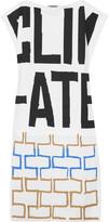 Vivienne Westwood Brick asymmetric printed cotton-jersey top