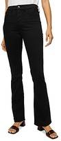 Thumbnail for your product : Jen7 by 7 For All Mankind Slim Bootcut Jeans in Classic Black Noir