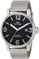 TW Steel Men's 'Maverick' Quartz Stainless Casual Watch, Color:Silver-Toned (Model: MB12)