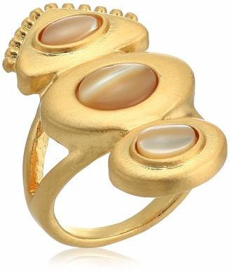 Lucky Brand Women's Set Stone Statement Ring