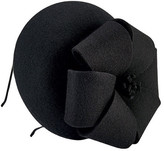 San Diego Hat Company Women's Wool Felt Fascinator with Bow DRS3556