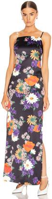 STAUD Heidi Dress in Black Floral | FWRD