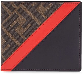 Fendi panelled FF motif wallet