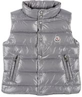 Moncler Men's Down-Quilted Tib Vest-GREY