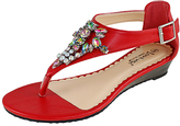 Red Biscuit Sandal