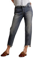 Dl Golide Crop High Rise Tapered Jeans