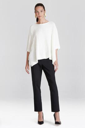 Natori Cotton Modal Knit Poncho Sweater
