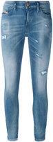 Diesel distressed skinny jeans - women - Cotton/Polyester/Spandex/Elastane - 24/32