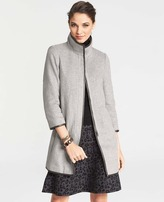 Ann Taylor Stand Collar Topper