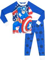 Marvel Captain America Boys' Captain America Pajamas