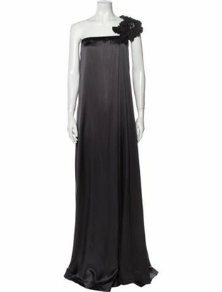 Brunello Cucinelli Abiti De Sera Long Dress Grey
