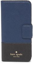 Kate Spade Leather Wrap Folio iPhone 7 Case