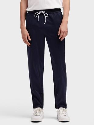 DKNY Women's Retro Track Pant - Navy - Size XXL