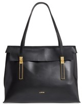 Lodis Silicon Valley - Lorrain Rfid Leather Satchel - Black