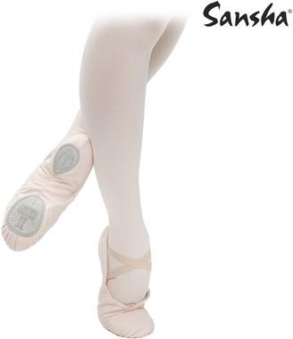 Sansha 3C Silhouette Pink Medium Sizes Women Men 8.5 Ballet Flat 12 M BR (10-10.5 US)