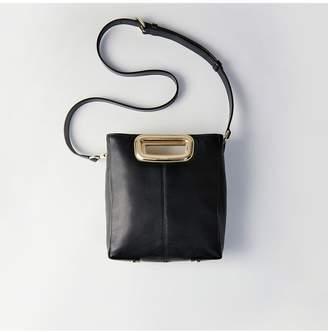 Maje M Mini Skin Bag In Leather