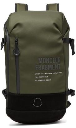 Moncler 7 Fragment - Fragment Hiroshi Fujiwara Canvas Backpack - Mens - Green