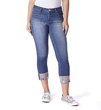 Jag Jeans Women's Carter Girlfriend Jean with Embroidered Cuff