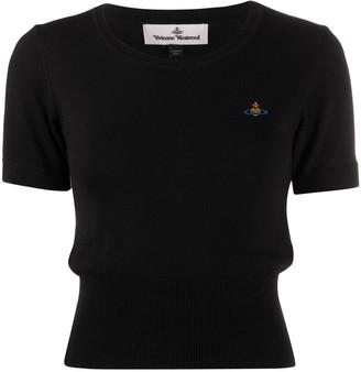 Vivienne Westwood embroidered logo T-shirt