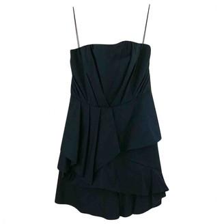 Alice + Olivia Navy Cotton Skirt for Women