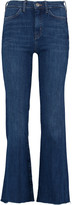 MiH Jeans Lou cropped mid-rise flared jeans