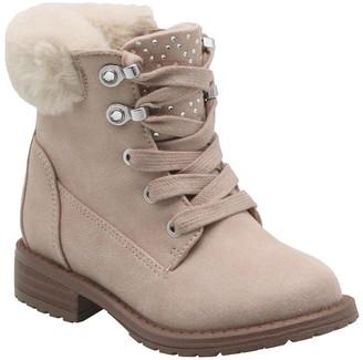Mia Little Keylah Faux Fur Detail Boot