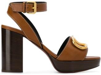 Valentino VLOGO mid-heel sandals