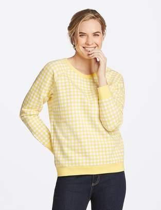 Draper James Gingham Sweatshirt