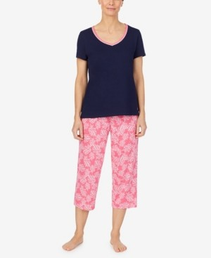 Nautica Women's Capri Pajama Set