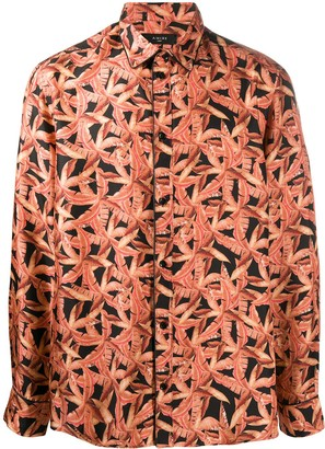 Amiri Palm Tree Print Shirt