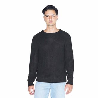 American Apparel Men's Fisherman's Long-Sleeve Pullover Knit Sweater