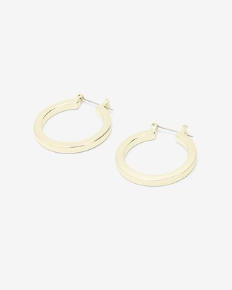 Express X Luv Aj Mini Celine Hoop Earrings