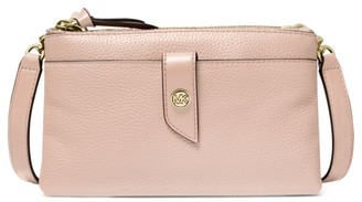 Michael Kors Medium Tab Leather Crossbody Bag