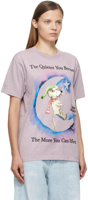 Online Ceramics Purple 'The More You Can Hear' T-Shirt